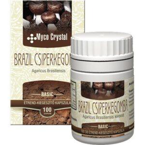Myco Crystal Brazil csiperkegomba kapszula - 100db