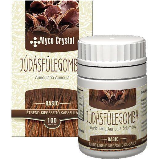 Myco Crystal Júdásfülegomba kapszula - 100db