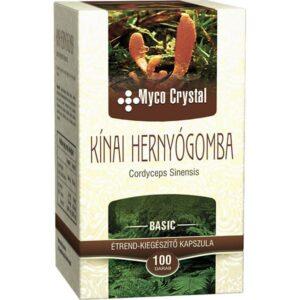 Myco Crystal Kínai hernyógomba - Cordyceps kapszula - 100db