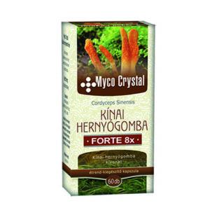 Myco Crystal Kínai hernyógomba Forte kapszula - 60db