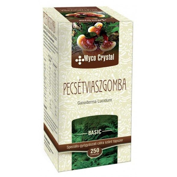 Myco Crystal Pecsétviaszgomba kapszula - 250 db