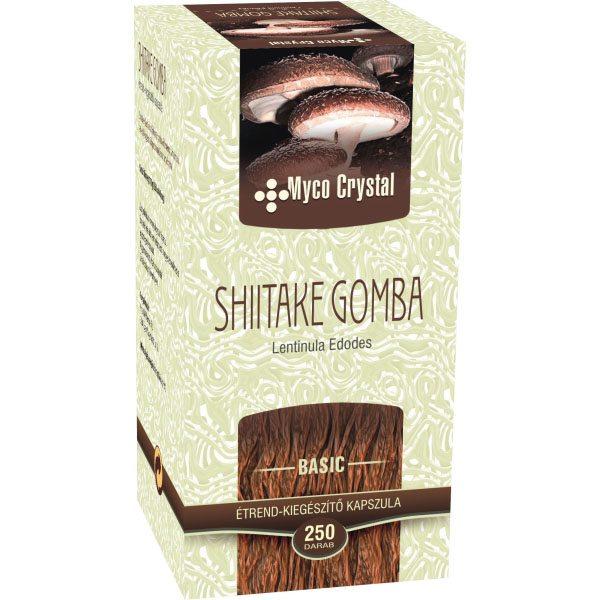 Myco Crystal Shiitake kapszula - 250db
