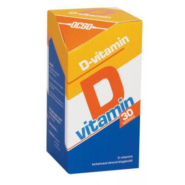 OCSO D-vitamin tabletta - 30db