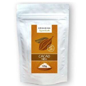 Organiqa Bio nyers zúzott kakaóbab - 125g