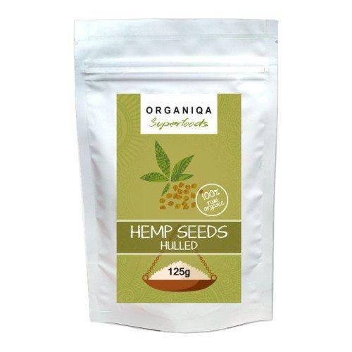 Organiqa Bio Hántolt Kendermag - 125g