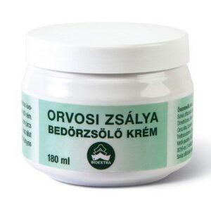 Bioextra orvosi zsálya bedörzsölő krém - 180ml