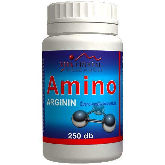 Vita Crystal Amino Arginin kapszula - 250db