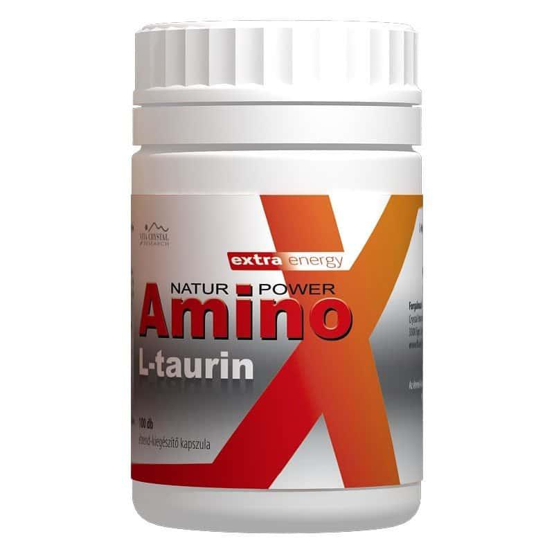 Vita Crystal Amino L-Taurin kapszula - 100db