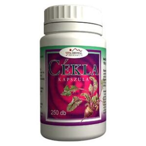 Vita Crystal Cékla kapszula - 250db