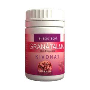 Vita Crystal Gránátalma kivonat kapszula - 100db