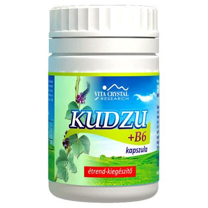 Vita Crystal Kudzu + B6-vitamin kapszula - 100db