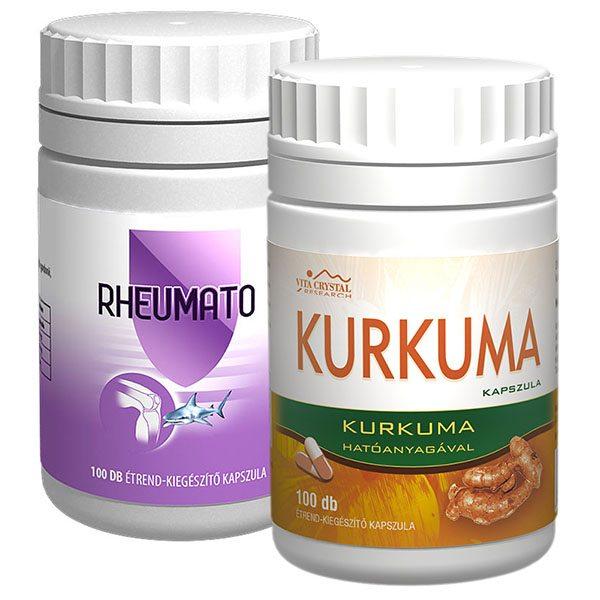 Vita Crystal Kurkuma + Complex Rheumato kapszula - 100+100 db