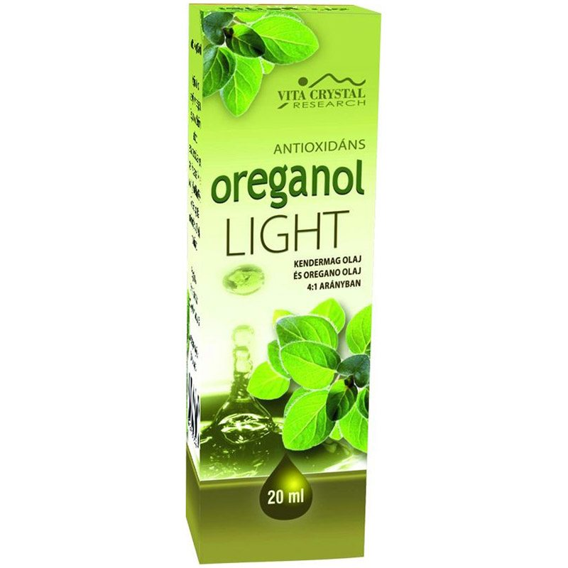 Vita Crystal Oreganol Light - 20 ml