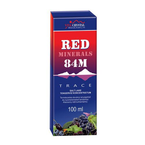 Vita Crystal Red Minerals 84M cseppek - 100ml