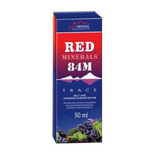 Vita Crystal Red Minerals 84M cseppek - 50ml