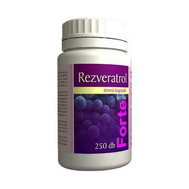Vita Crystal Rezveratrol Forte kapszula - 250db