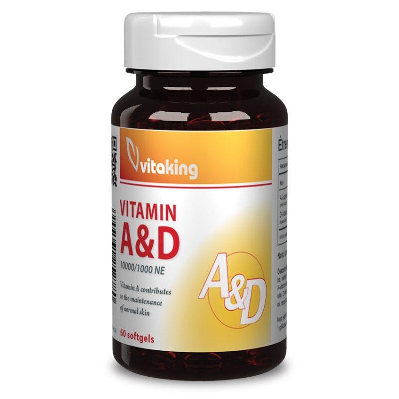 Vitaking A-D vitamin kapszula 60db