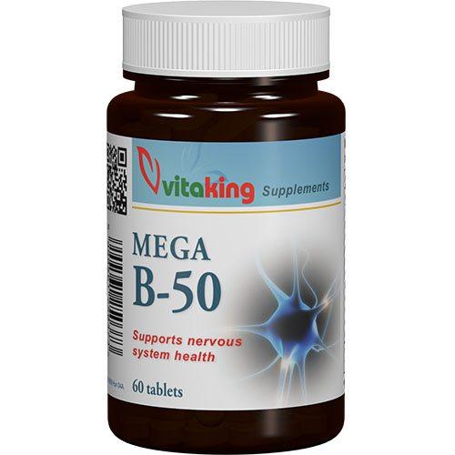 Vitaking B-50 komplex tabletta - 60db