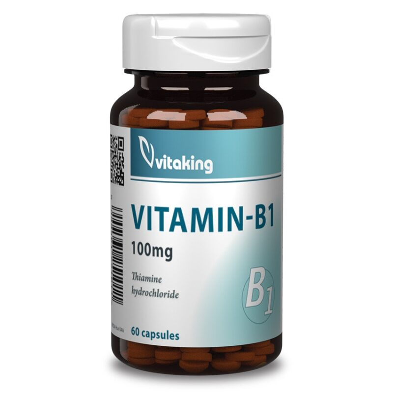 Vitaking B1 vitamin 100mg kapszula -60db