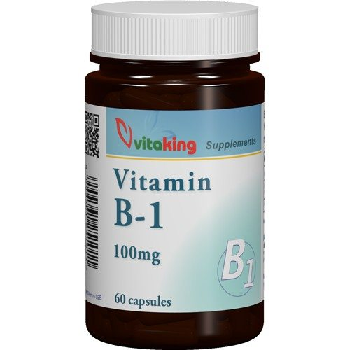 Vitaking B1-vitamin 100mg kapszula - 60db