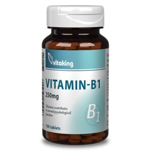 Vitaking-B1-vitamin-250mg-tabletta-100db