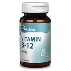 Vitaking B12-vitamin 500mcg kapszula – 100db