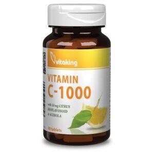 Vitaking-C-1000-Bioflavonoid-acerola-csipke-30db