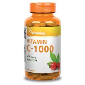 Vitaking C-1000 csipkebogyo - 100db