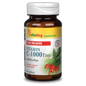 Vitaking C-vitamin 1000mg TR tabletta – 60db