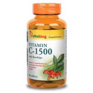 Vitaking C-1500 csipkebogyo - 60db