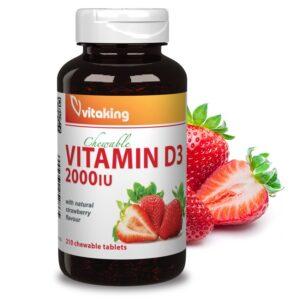 Vitaking-D-2000-epres-ragotabletta-210db