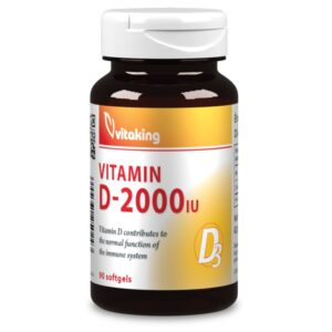 Vitaking D2000 vitamin - 90db