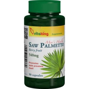 Vitaking Fűrészpálma (Saw Palmetto) 540mg tabletta - 90db