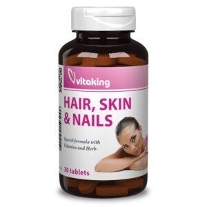 Vitaking Haj bőr köröm szépségvitamin tabletta - 30db