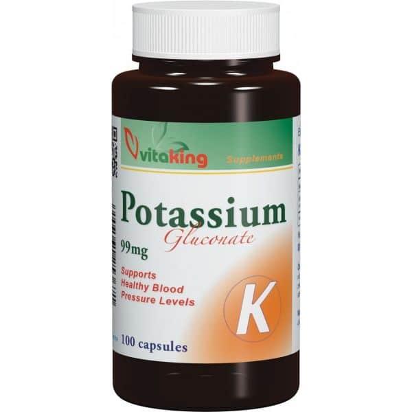 Vitaking Kálium potassium 99mg kapszula - 100db