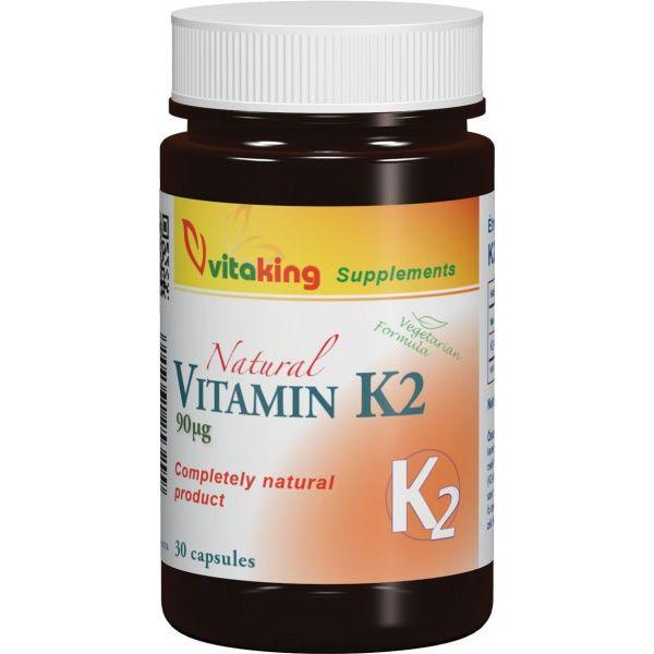 Vitaking K2-vitamin 90mcg kapszula - 30db