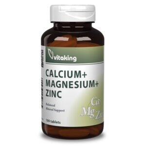 Vitaking Kalcium Magnézium Cink tabletta - 100db
