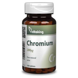 Vitaking Krom pikolinat tabletta - 100db