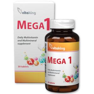 Vitaking Mega-1 multivitamin tabletta új dobozos - 30db