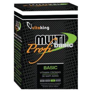 Vitaking Multi Basic Profi multivitamin csomag - 30db