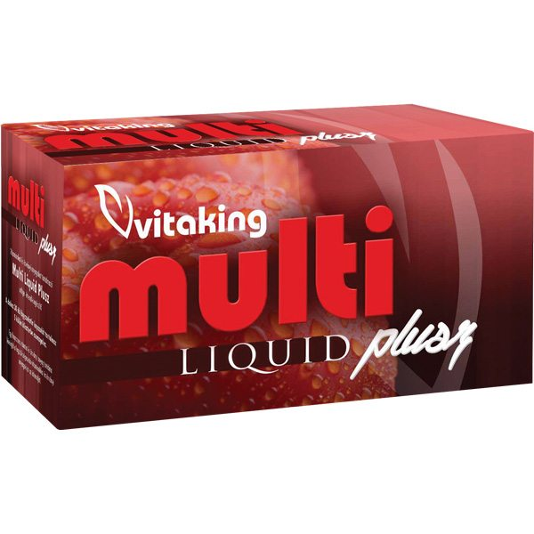 Vitaking Multi Liquid Plusz vitamincsomag - 30db