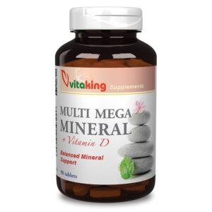 Vitaking Multi Mega Mineral tabletta - 90db