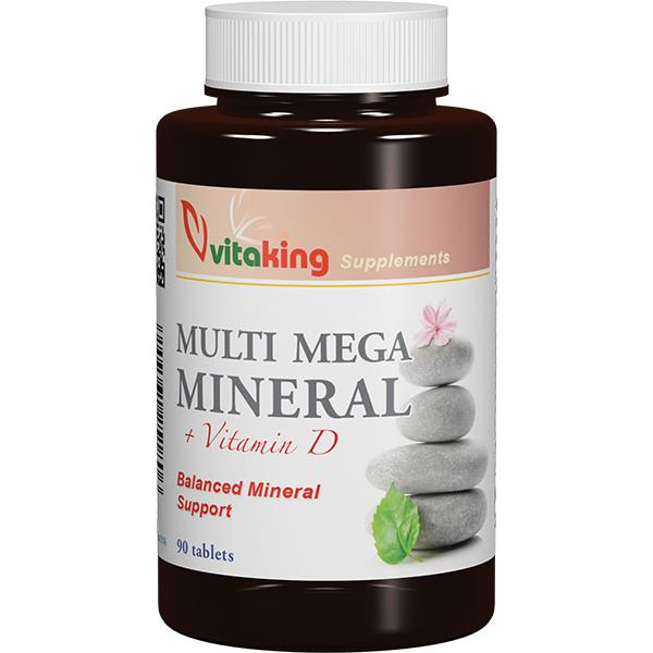 Vitaking Multi Mega Mineral tabletta - 90db