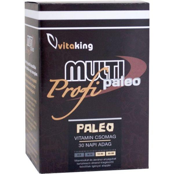Vitaking Multi Paleo Profi vitamincsomag - 30csomag