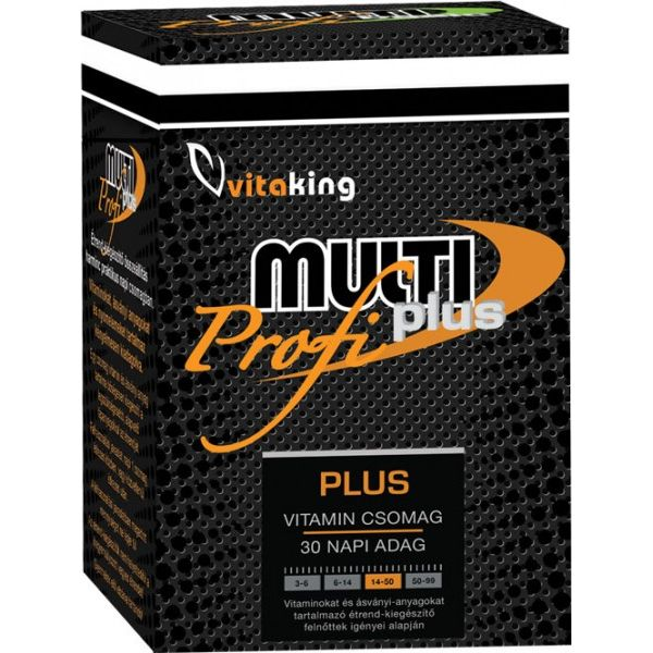 Vitaking Multi Plus Profi multivitamin csomag - 30db