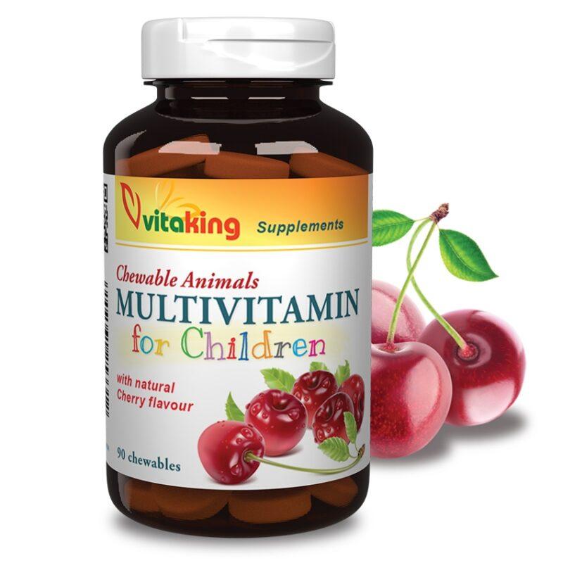 Vitaking Multi gyerek - 90db