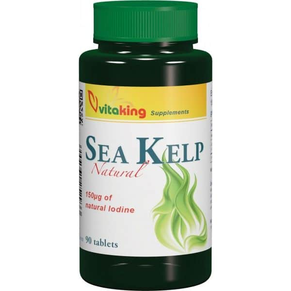 Vitaking Sea Kelp Jód tabletta - 90db