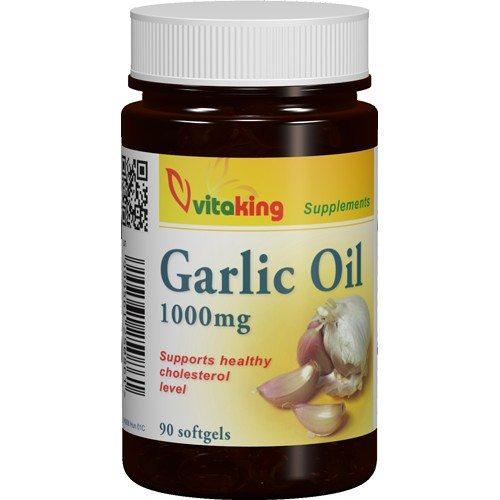 Vitaking fokhagymaolaj lágyzselatin kapszula - 90 db