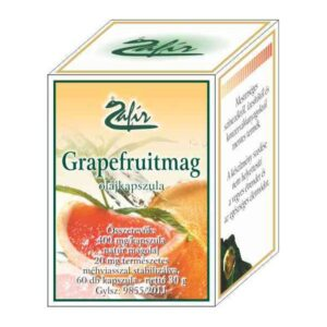 Zafir grapefruitmag olajkapszula - 60db