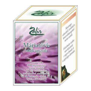 Zafir máriatövis olajkapszula - 60db